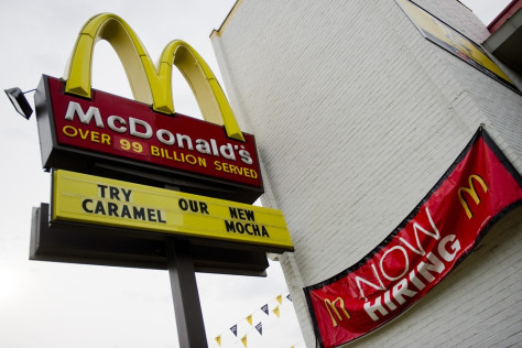 Image: McDonald's in Washington DC