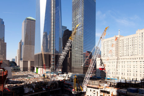 Image: One World Trade Center construction