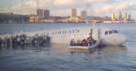 Image: Hudson River plane crash