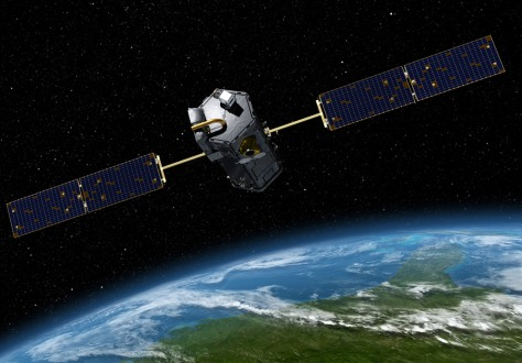 Image: Illustration of Orbiting Carbon Observatory
