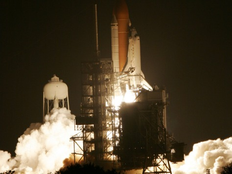 Image: shuttle launch pad