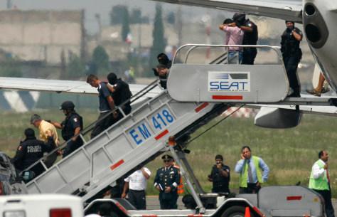 Image: Aeromexico hijacking
