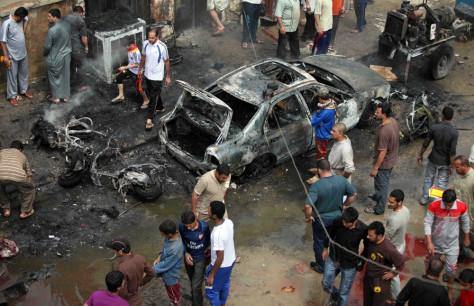 Image: Bombing in Iraq