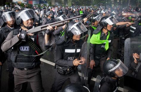 Image: Bangkok violence