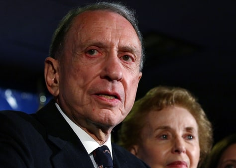 Image: Arlen Specter with his wife Joan