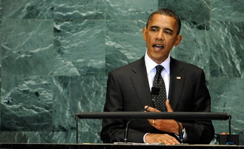 Image: Obama at UN Millennium Development Goals Summit