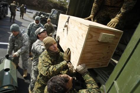 Image: Marines in Higashi Matsushima