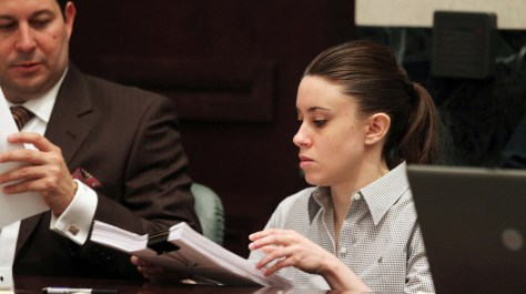 Image: Casey Anthony with her attorney Jose Baez