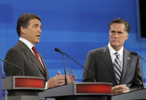Image: GOP Presidential Candidates Debate In Orlando Ahead Of Florida Straw Poll