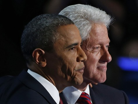 Image: Bill Clinton, Barack Obama