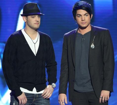 Image: Matt Giraud, Adam Lambert