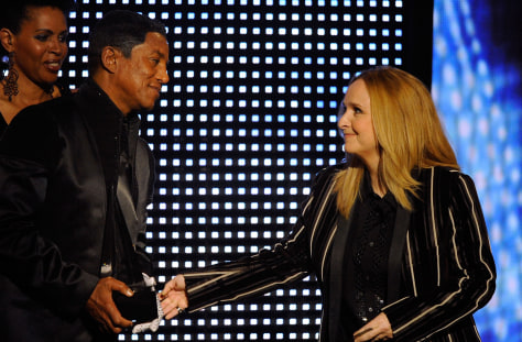 Image: Jermaine Jackson, Melissa Etheridge