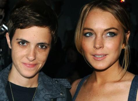Image: Lindsay Lohan, Samantha Ronson