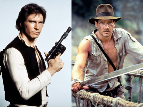 IMAGE: Han Solo, Indiana Jones