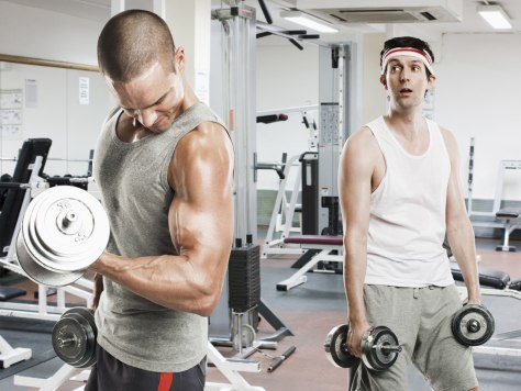 gymshyness keeps some dudes from working out  health