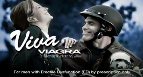 Ubiquitous ads for drugs, such as this TV spot for Viagra, may not have the effect they once had. A new study says requests for specific medications have declined since 2003.