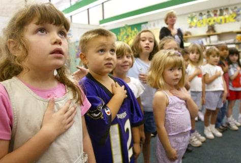 Image: Kindergardners