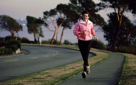 Image: Woman running