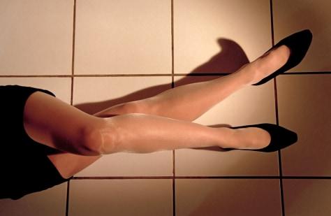 Image: Woman's legs
