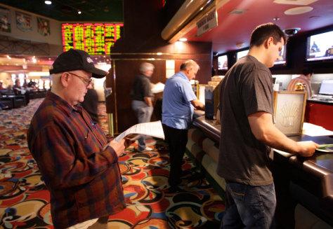 Image: Gablling in Las Vegas
