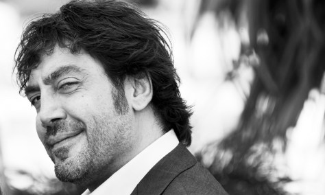 Spanish actor Javier Bardem poses during