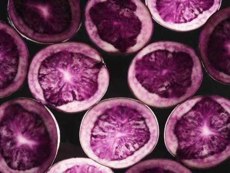 Image: purple potatoes