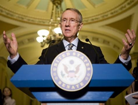 Image: Senator Harry Reid of Nevada.