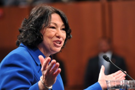 Image: Supreme Court nominee Judge Sonia Sotomayor