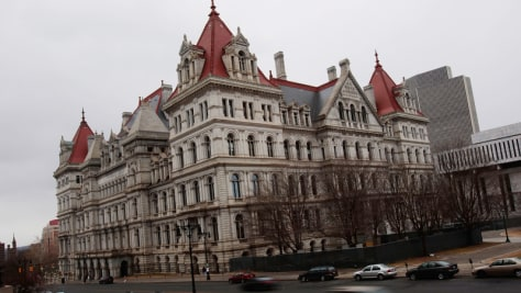 Image: The New York State Capitol building.