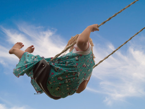 Image: Child on a swing