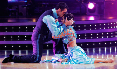 """Image: Tony Dovolani and Melissa Rycroft perform on """"Dancing with the Stars."""""""