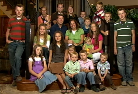 Image: The Duggar family