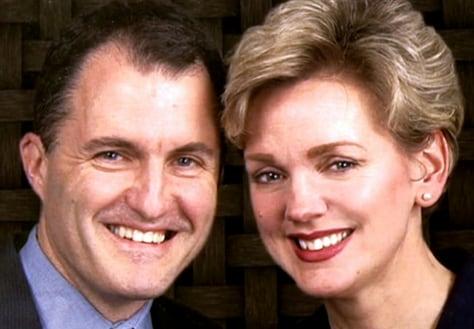Image: Daniel Mulhern and Jennifer Granholm