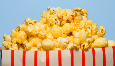 Image: Movie popcorn