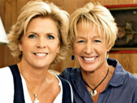 Image: Meredith Baxter and girlfriend
