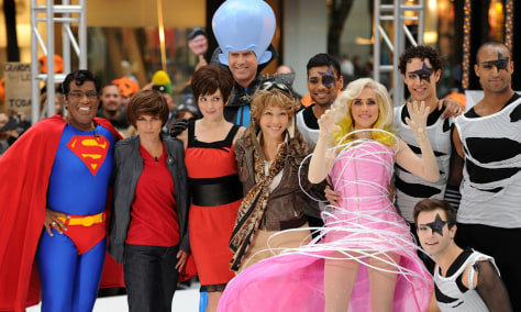 "Image: 2010 NBC's ""Today"" Halloween Episode"
