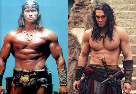 IMAGE: Schwarzenegger, Momoa