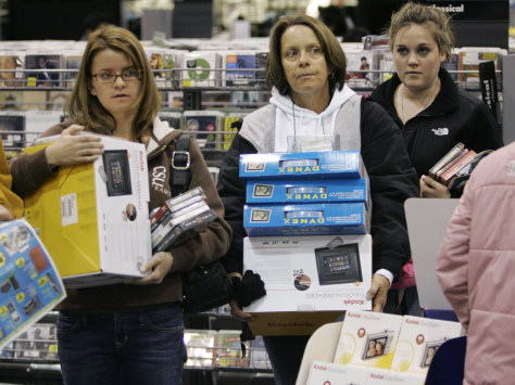 Image: Women at Best Buy