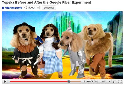 Image: Topeka Google Fiber video