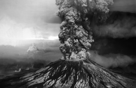 Image: Mount St. Helens eruption
