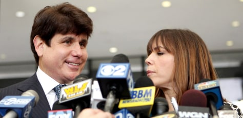 Image: Rod Blagojevich, Patti Blagojevich