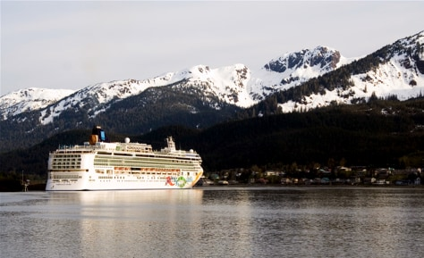 Image: Skagway port of call