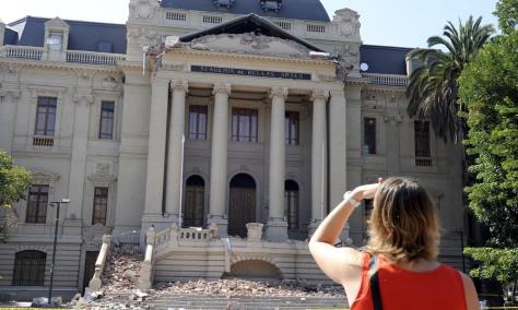 Image: Fine Arts Museum in Santiago