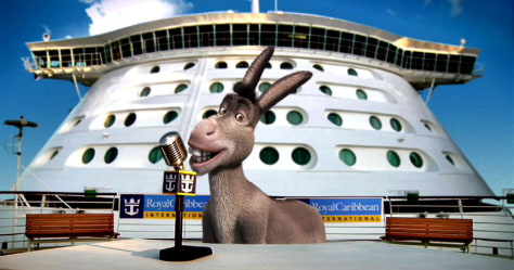 Image: Royal Caribbean and Dreamworks