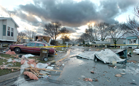 Image: Indiana storm damage