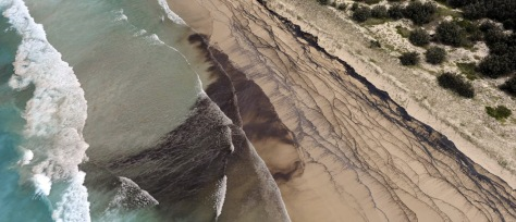 Image: Oil spill in southern Queensland