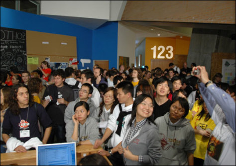 Image: Undergraduate participants.