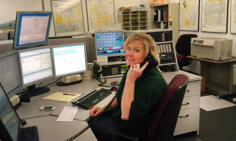 Image: Polk County Sheriff's Office dispatcher Maggie Brodeur