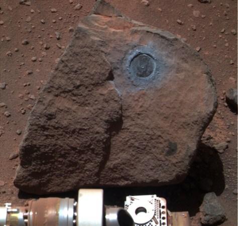 Image: Mars rock