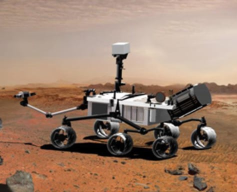 Image: Mars rover